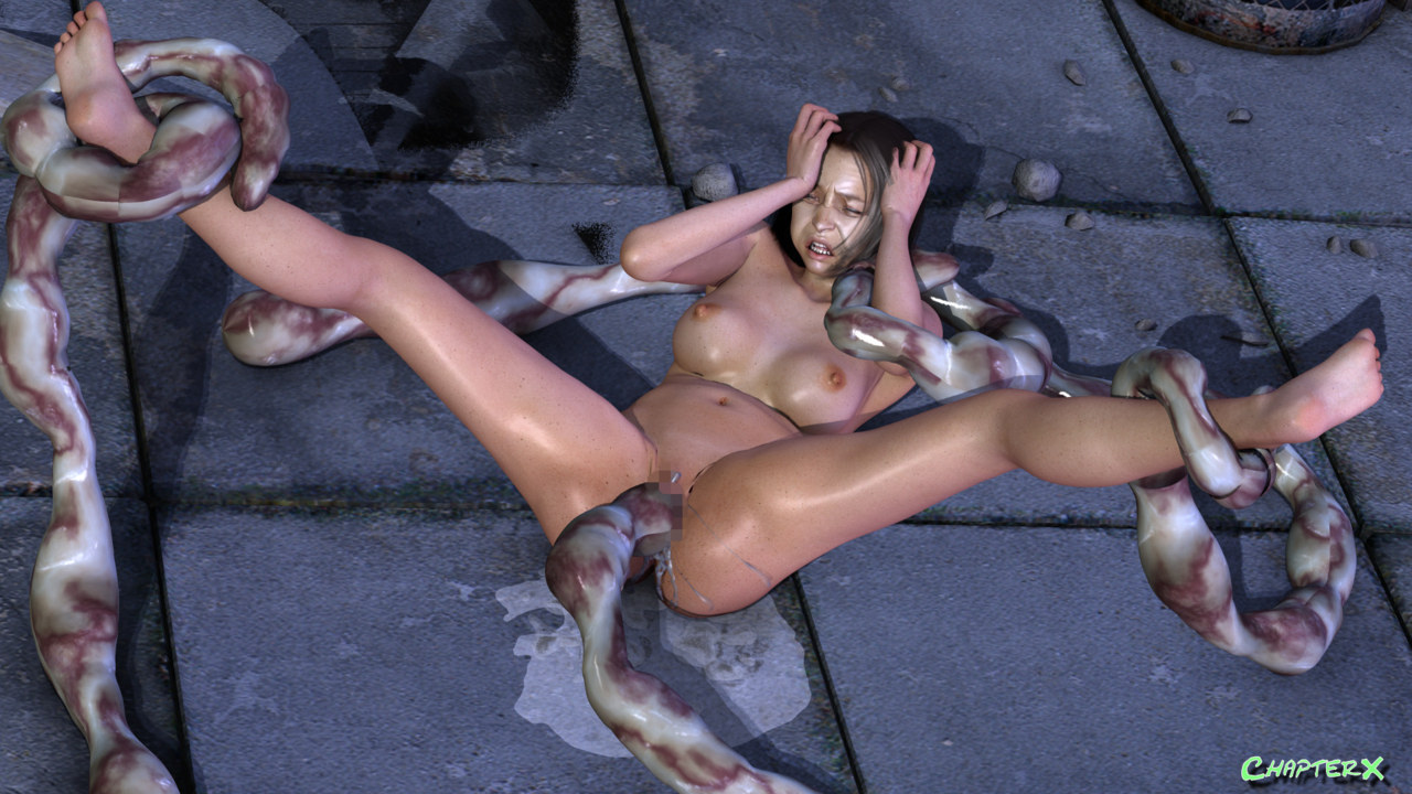 Tieded 3d girl fucked by monster picture anime movies