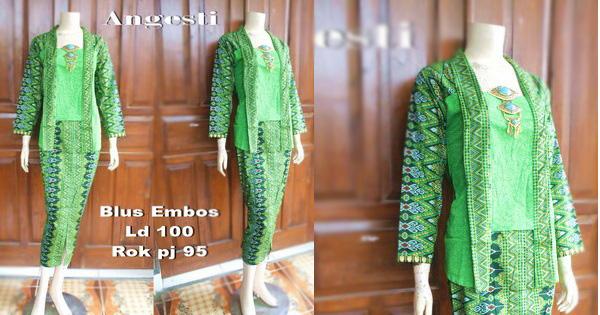Batik Gamis Angesti Dbg-684