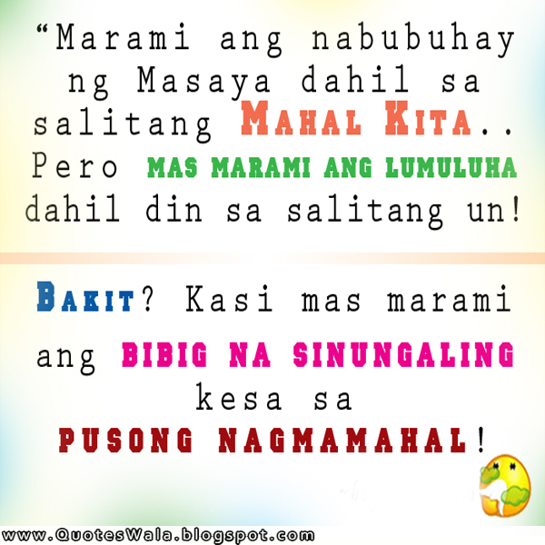 Tagalog Quotes About Love And Friendship Classy Tagalog Sad Quotes  Daily Quotes At Quoteswala
