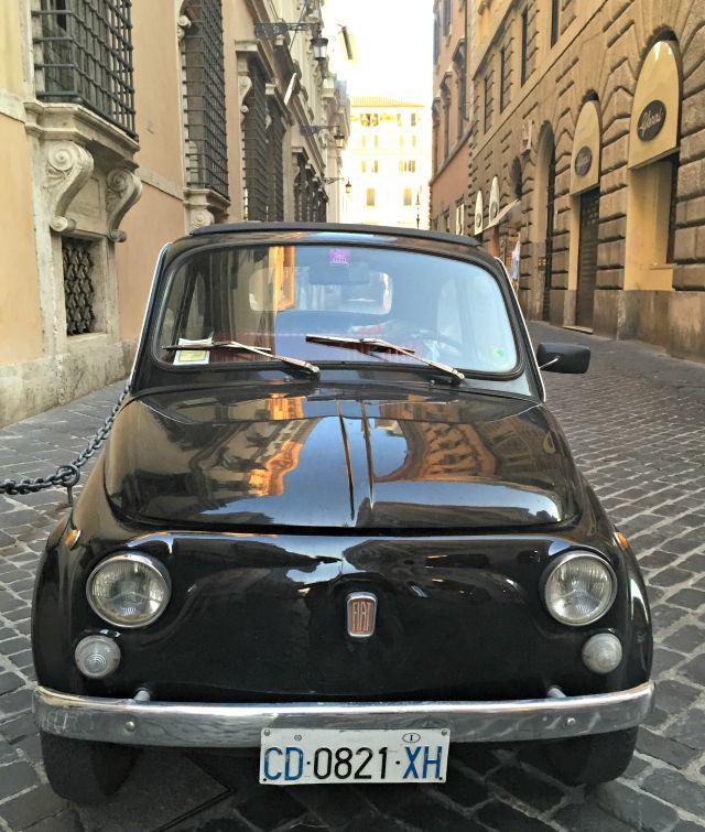 Fiat 500 Impressionen aus Rom - Kinder in Rom