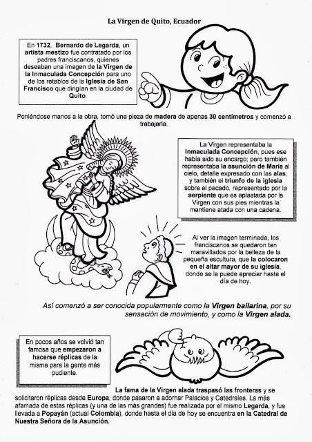 La Catequesis (El blog de Sandra): Recursos Catequesis Virgen de Quito