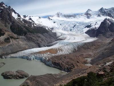 Glaciar De los Tres en El Chaltén