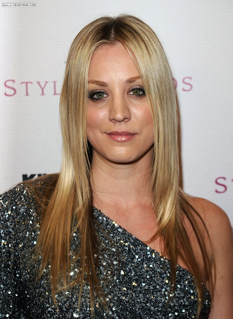 Kaley Cuoco Hairstyle Pictures