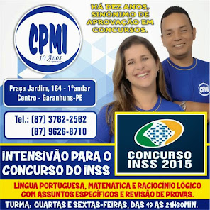 AGORA COM TURMA ESPECÍFICA PARA O CONCURSO DO INSS.