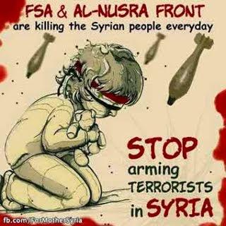 Οι δολοφόνοι του Συριακού λαού