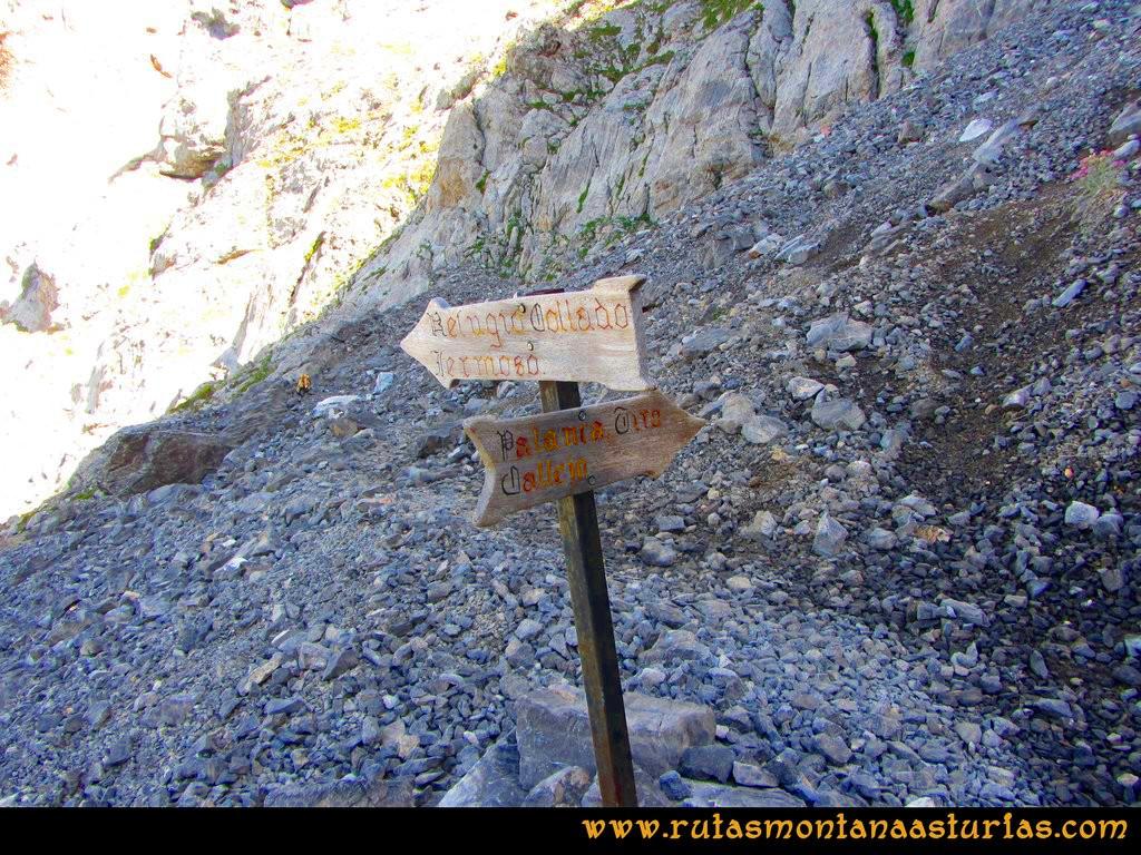 Ruta el Cable, Padiorna, Collado Jermoso, Palanca, Fuente De: Desvío para la Palanca cercano a Collado Jermoso