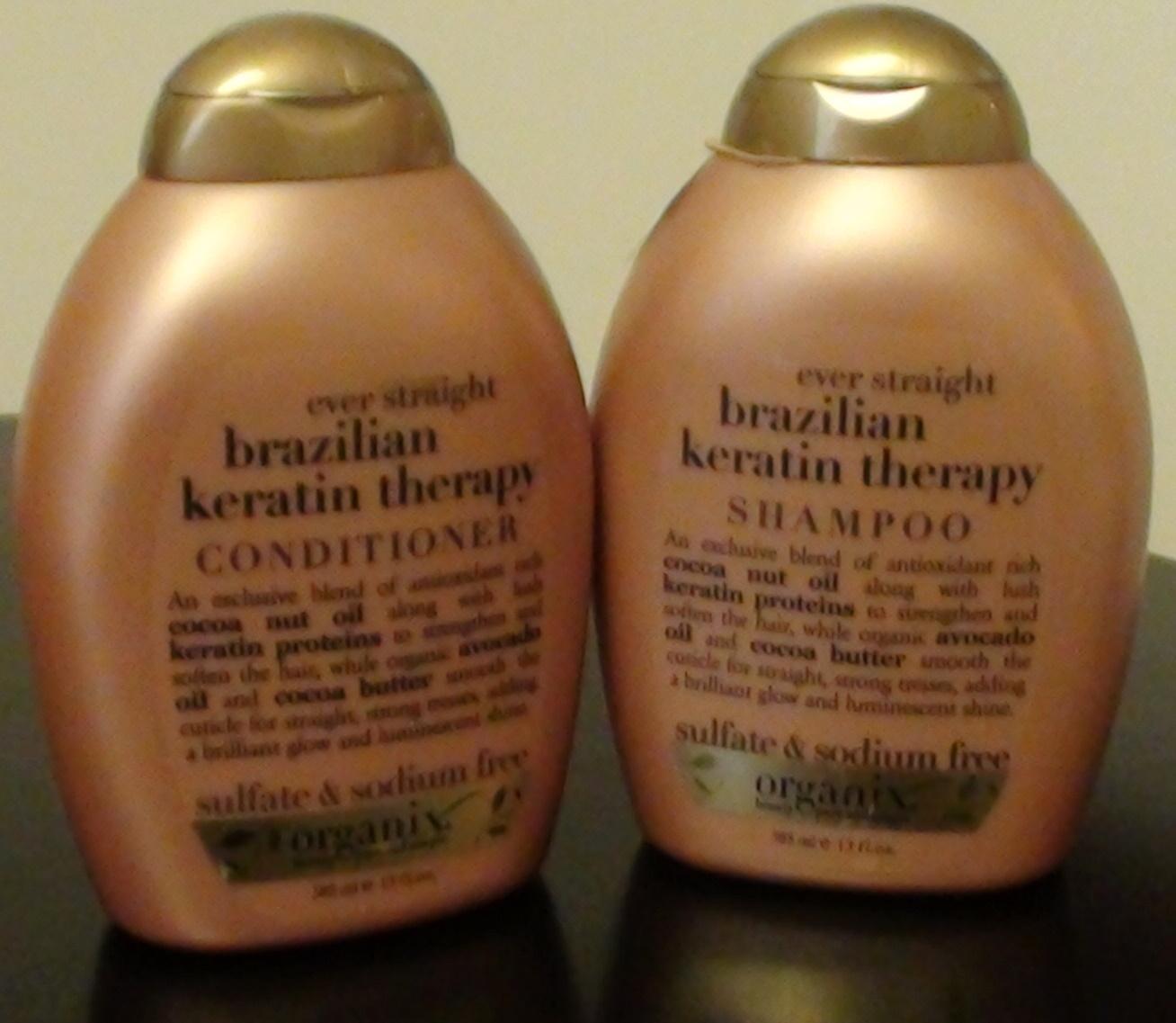 Thestylesupreme Organix Brazilian Keratin Therapy Shampoo