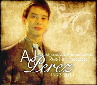 RIP AJ Perez - A Tribute to Young Actor AJ Perez Died at 18 (1993-2011)  Episode Replay