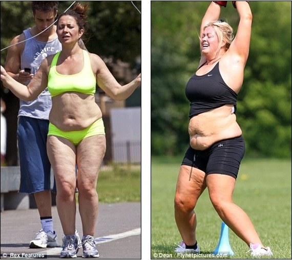 8bbdaf04df So when is the fitness DVD coming out  TOWIE s Gemma Collins hits bootcamp  in just a sports bra and tiny shorts ~ dailyceleb