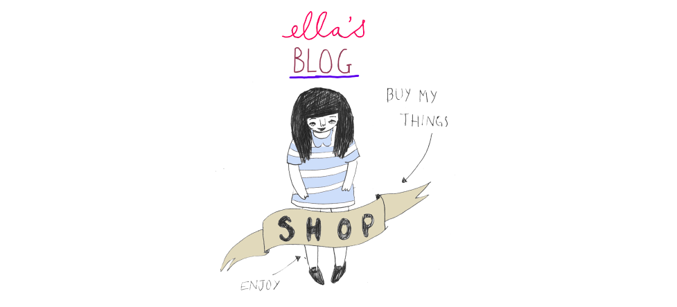 Ella's blog shop