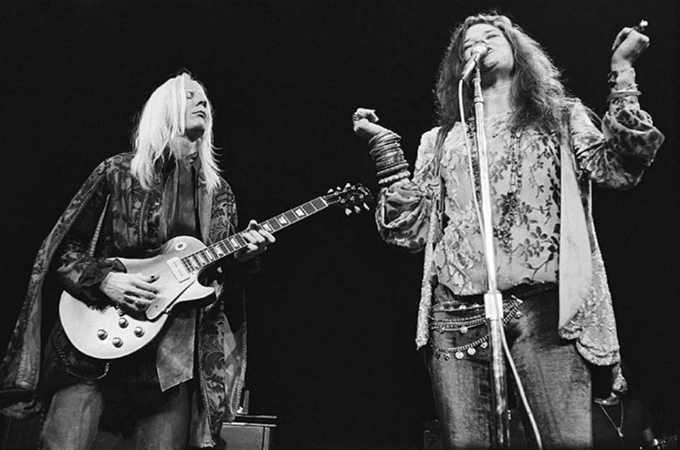 Johnny Winter e Janis Joplin