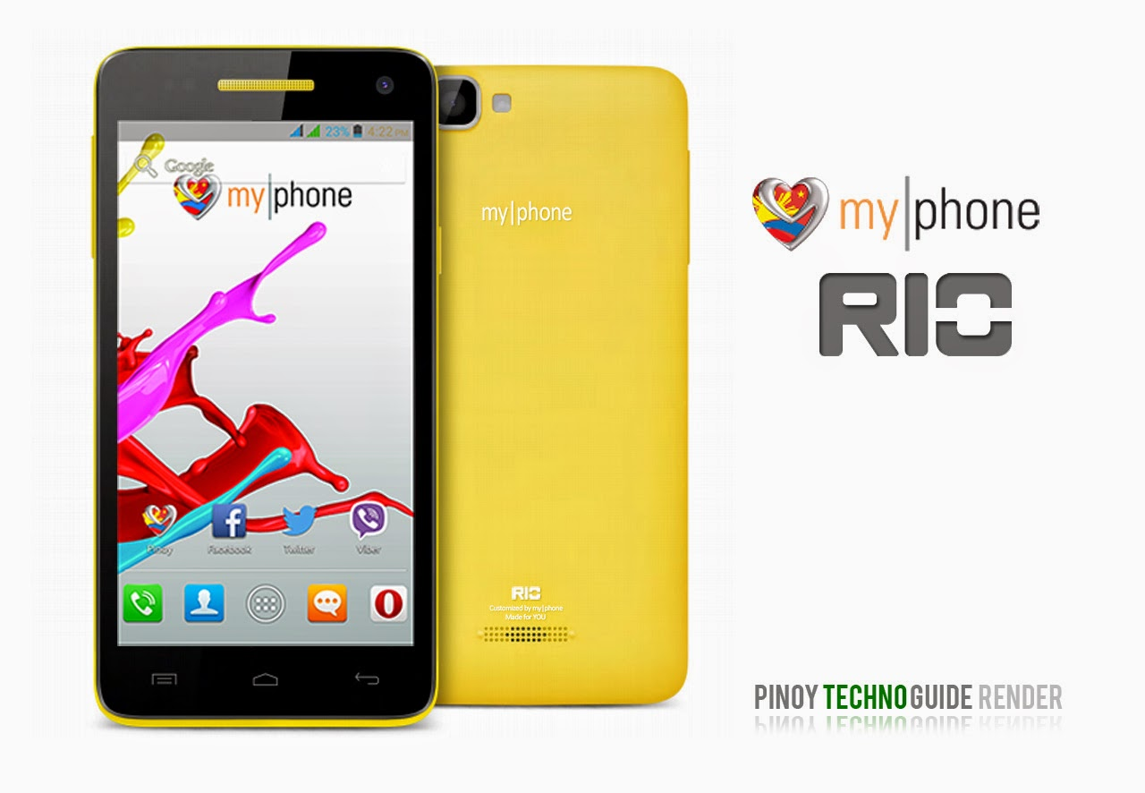 MyPhone Rio Official Photo