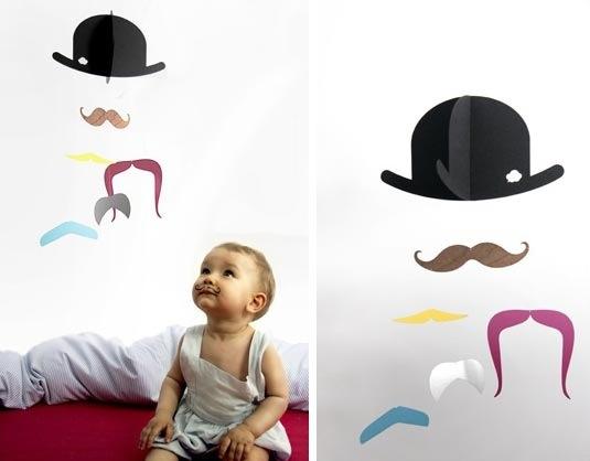 Moustache mobile