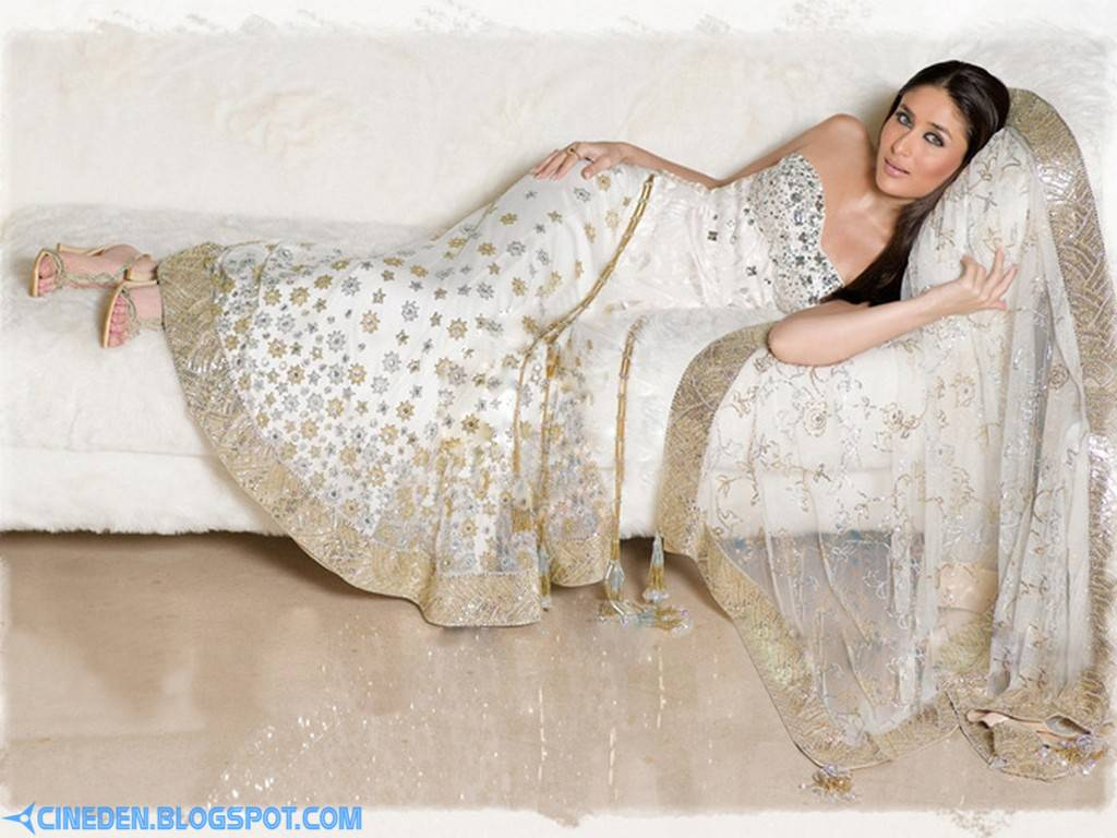 Kareena Kapoor Refuses to Wear a Shiny Saree