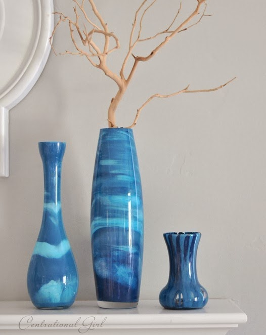 35 diy flower vases diy craft projects Diy home decor flower vase