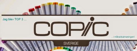 Top 3 at Copic Marker Sverige