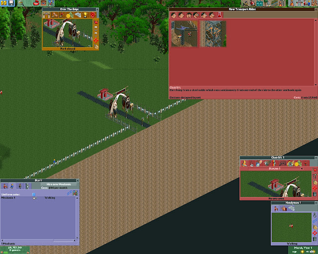 RollerCoaster Tycoon 2 - Africa Park Screenshot