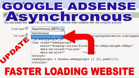 Memasang Iklan Adsense dengan 1 Java Script Supaya Fast Loading