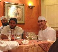 Shahid Afridi With Amir Khan