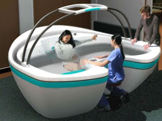 Metode Persalinan Water Birth Mengurangi rasa nyeri