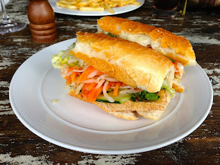 Taste Baguette and Grill, Darling Harbour, Sydney - Tofu Baguette