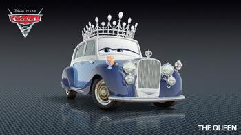 boda real inglesa pixar cars