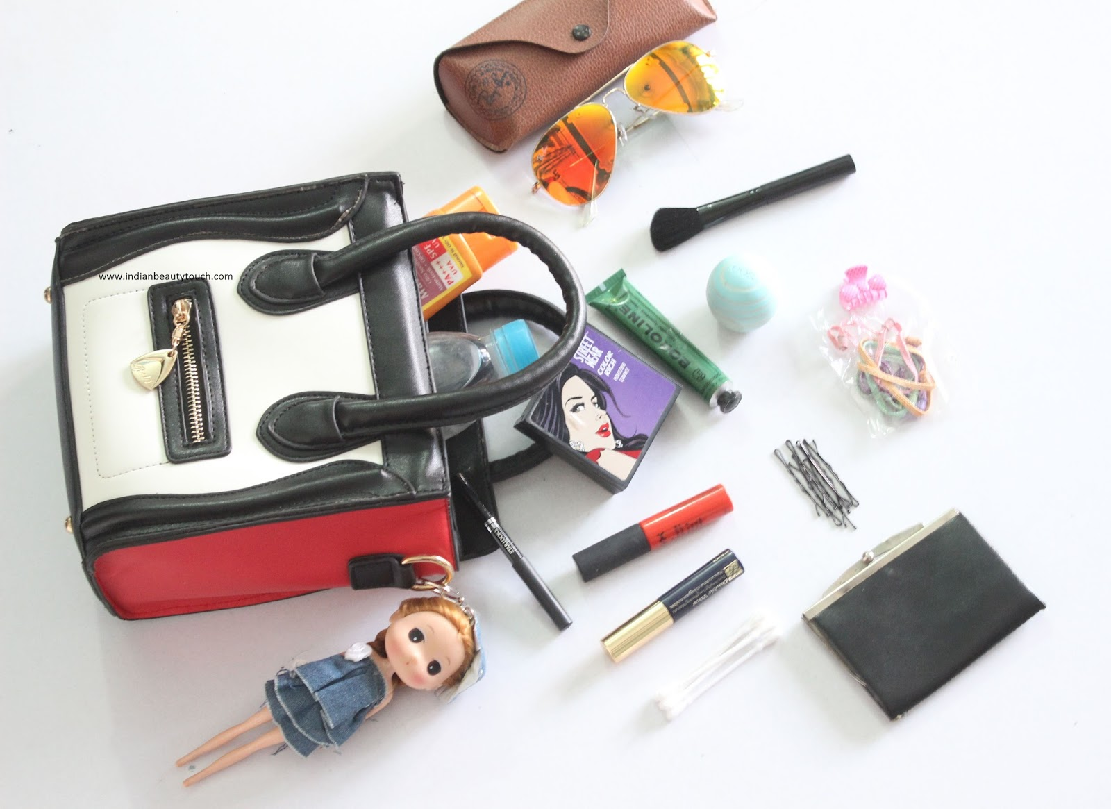 92044bfa9099 What s In My Bag 2015   - Indian Beauty Touch