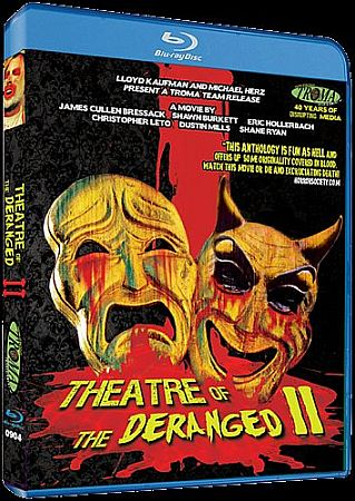 Theatre of the Deranged II Blu-ray cover