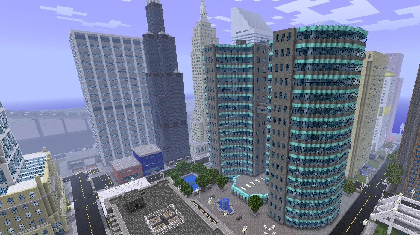 Minecraft Exemple Build