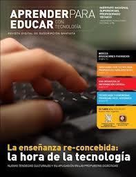 APRENDER PARA EDUCAR CON TECNOLOGIA