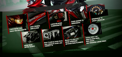 fitur dan teknologi  Yamaha SOUL GT Terbaru 2012