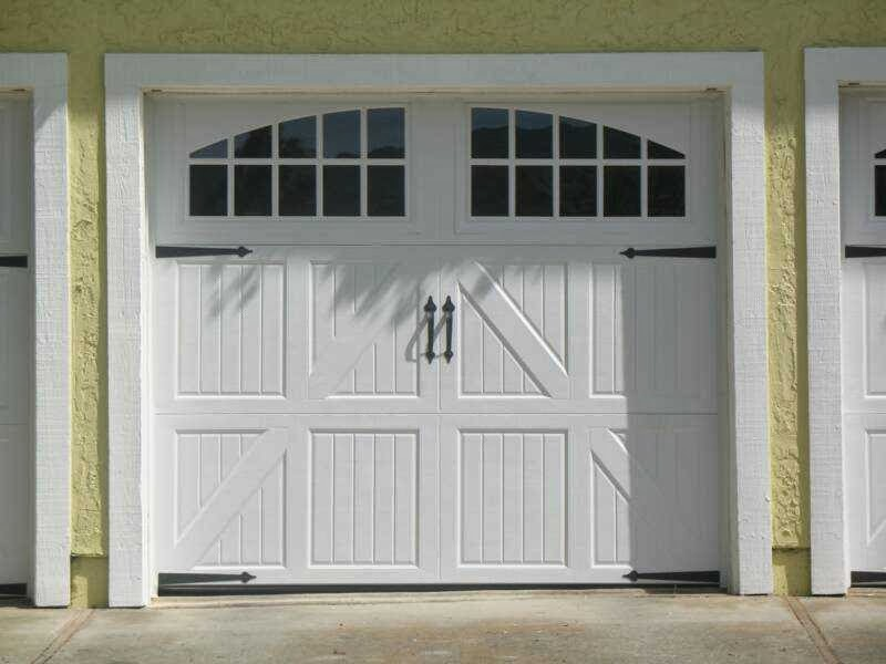 Garage Door Carriage Style