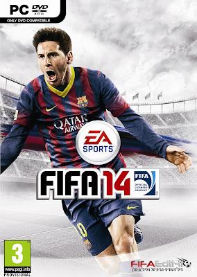 העטיפה הרשמית של FIFA 14 (פיפא אדיט)