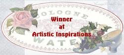 Winner Artistic Inspiration challenge nº 157