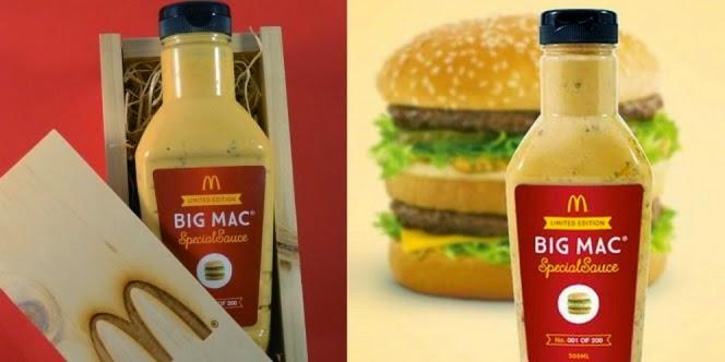 Ini Dia Saus McDonald Termahal Di Dunia, Harganya 227 Juta