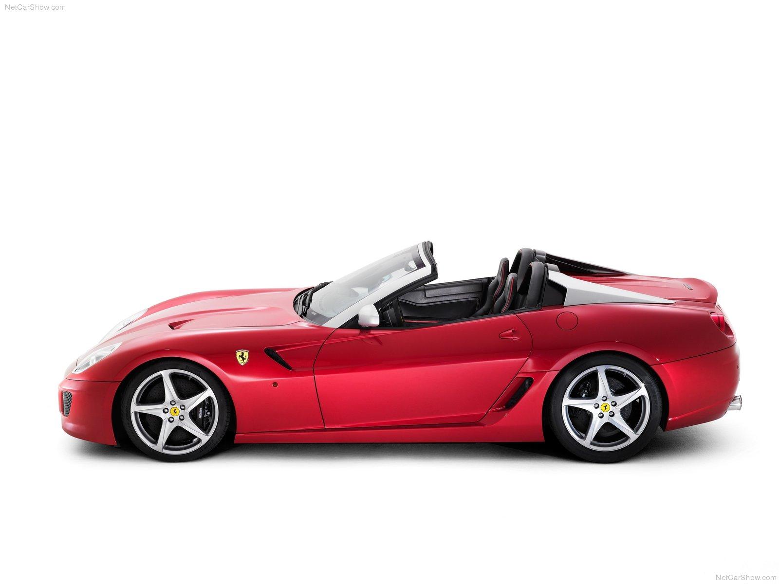 Hình ảnh siêu xe Ferrari 599 SA Aperta 2011 & nội ngoại thất