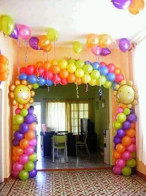 Arcos de globos para fiestas infantiles parte 2 - Globos para eventos ...