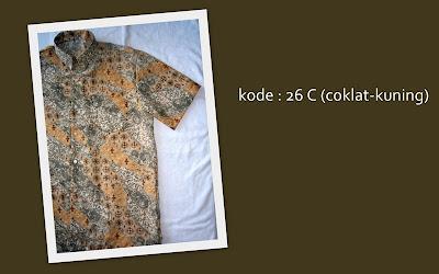 Baju Batik Pria 26C