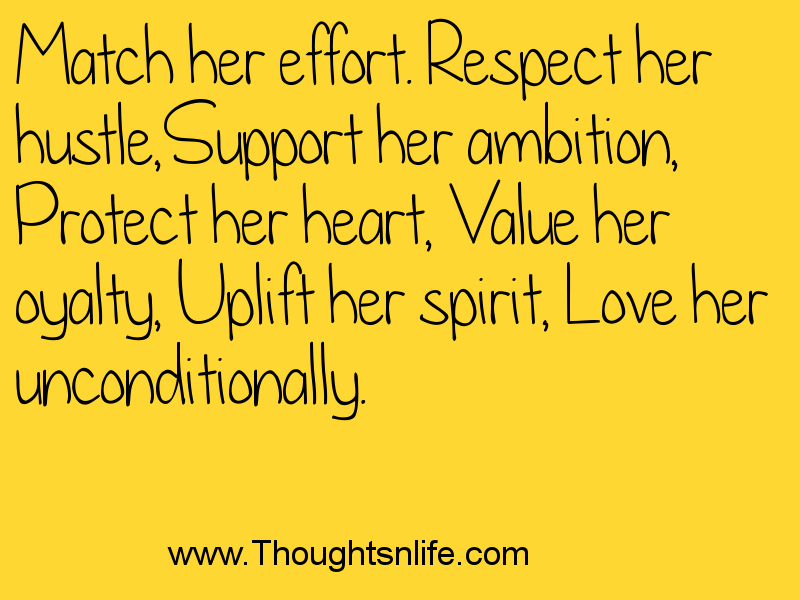 match her effort quote , thoughtsnlife, relationship quotes