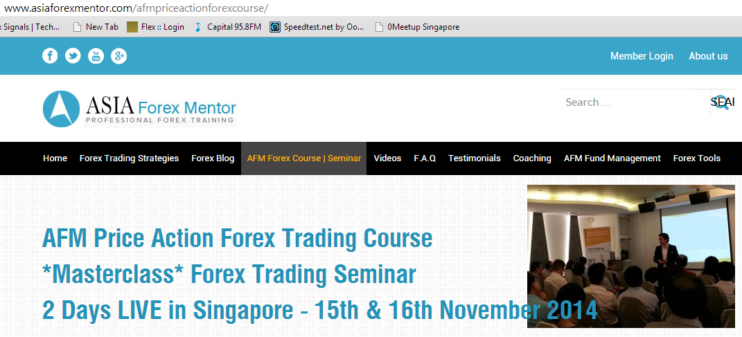 Best forex trading institute singapore
