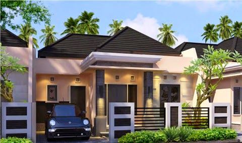 model rumah minimalis atap limas modern dan terbaru