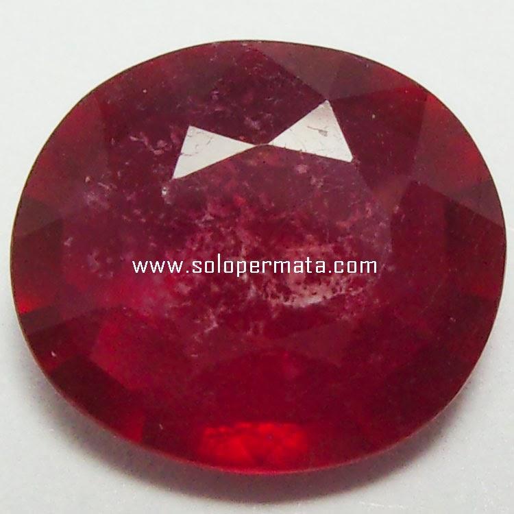 Batu Permata Ruby Pigeon Blood - 26A07