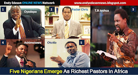 Five Nigerians Emerge As Richest Pastors In Africa