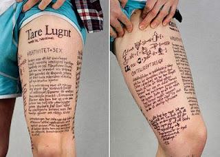 Fotos e imagens de Tatuagens na Coxa