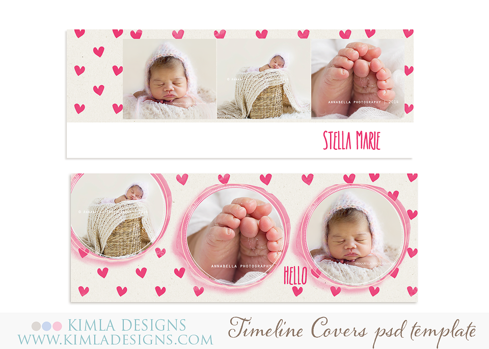 new Birth Announcements Cards and Timeline Covers PSD Templates – Free Birth Announcement Templates Photoshop