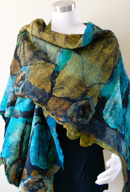 Nuno Butterfly Tunic/Shawl/Skirt