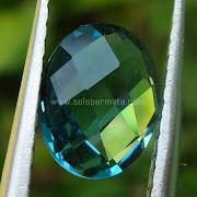 Batu Permata London Blue Topaz - SP849