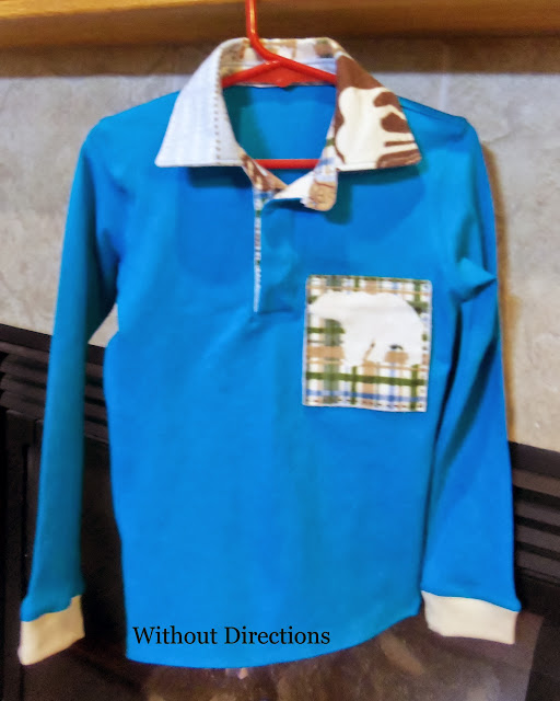 Burda Style Long Sleeve Polo 08/2011 #145
