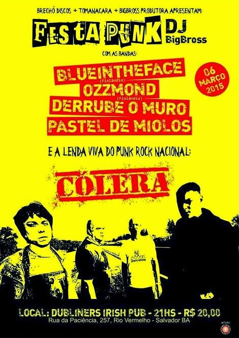 06-03-2015 - FESTA PUNK - Salvador - BA