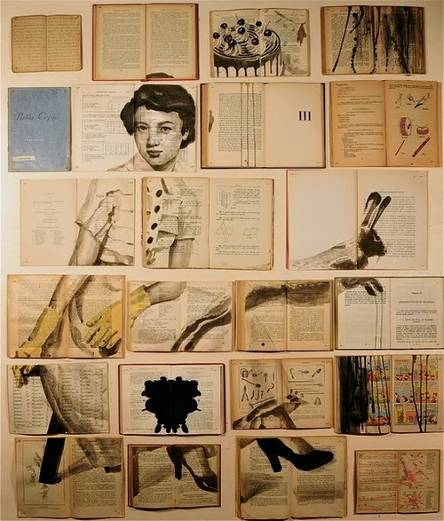 05-Russian-Artist-Ekaterina-Panikanova-Book-Page-Drawings-www-designstack-co